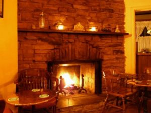 The Fireplace at Dora's the perfect excuse for a pub day
