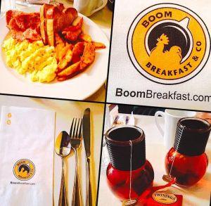 Breakfast a la Boom